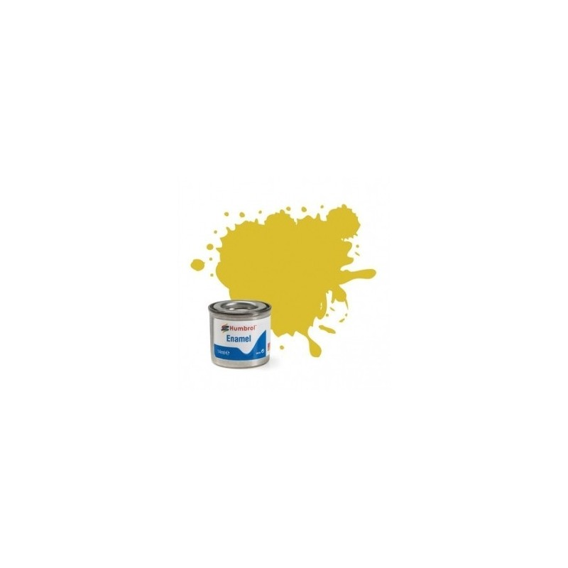 Humbrol 81 - Pale Yellow Matt