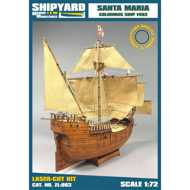 Santa Maria 1492 - Shipyard ZL003
