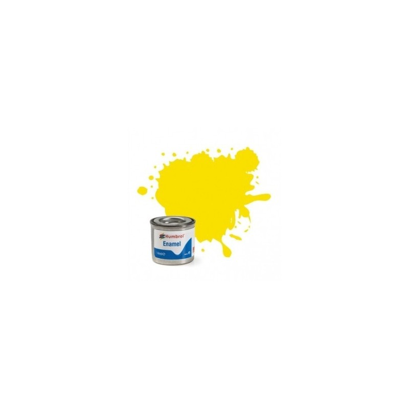 Humbrol 99 - Lemon Matt