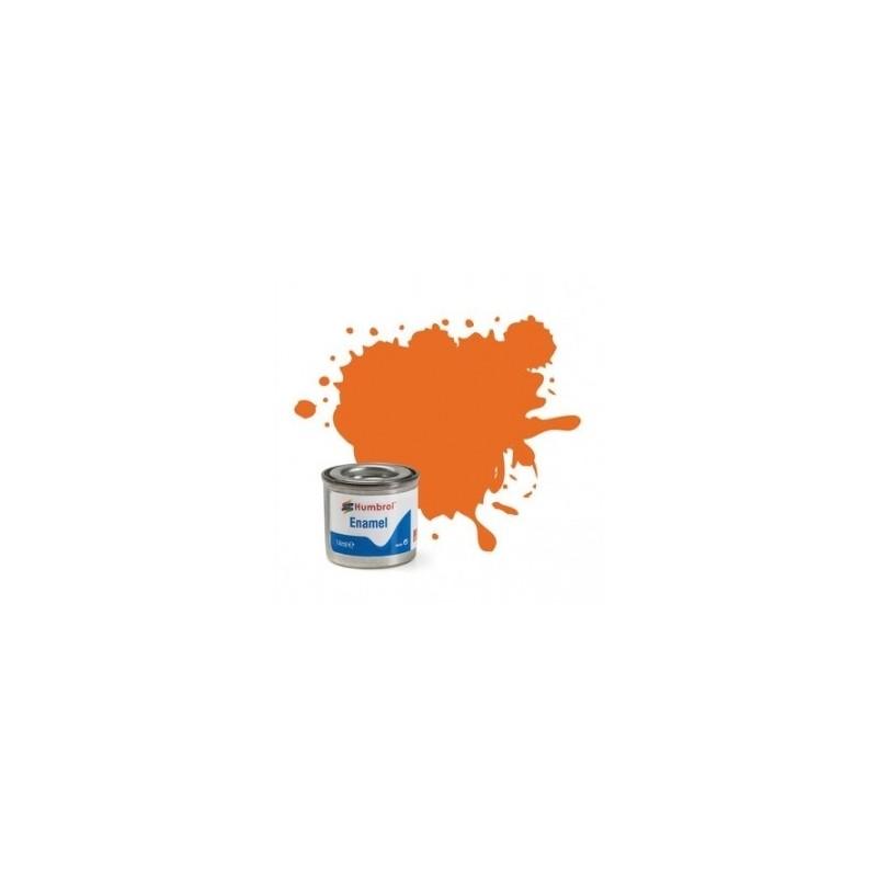 Humbrol 18 - Orange Gloss