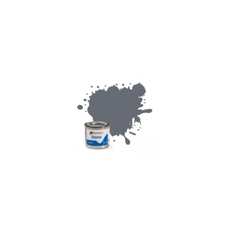 Humbrol 123 - Extra Dark Sea Grey Satin