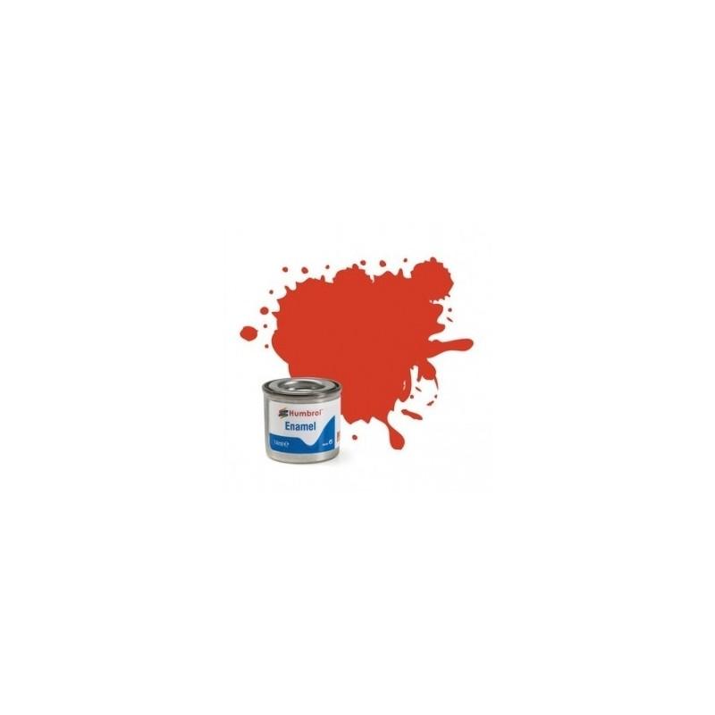 Humbrol 174 - Signal Red Satin