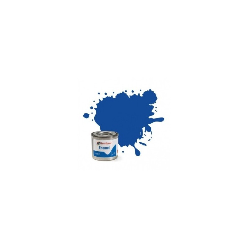Humbrol 222 - Moonlight Blue Metallic