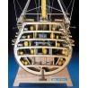 HMS Victory - przekrój dziobu - Mantua Model 746