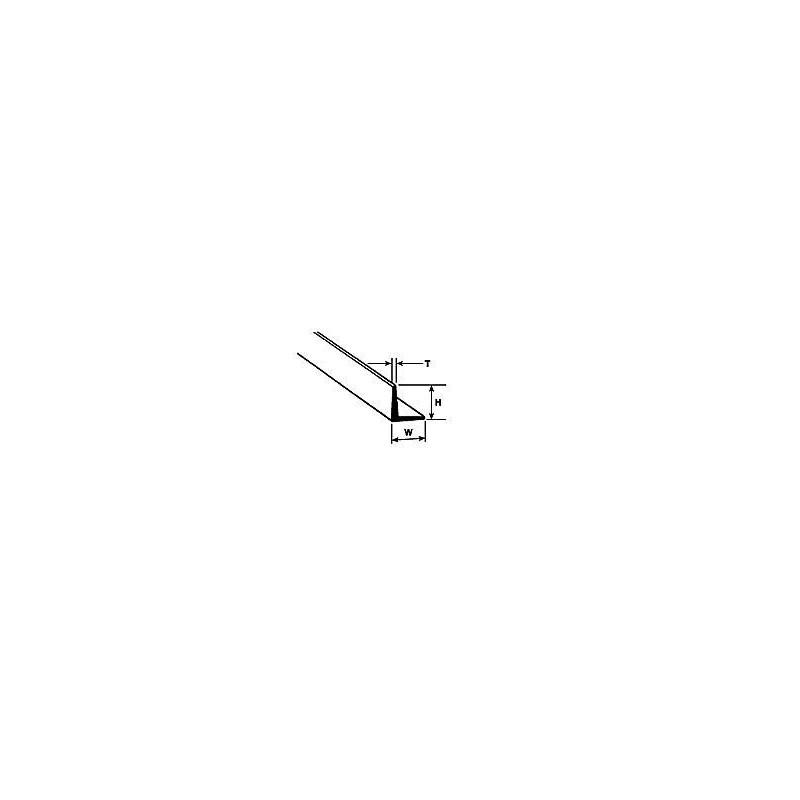 Kątownik 1,2mm x 1,2mm x 250mm - Plastruct 90501