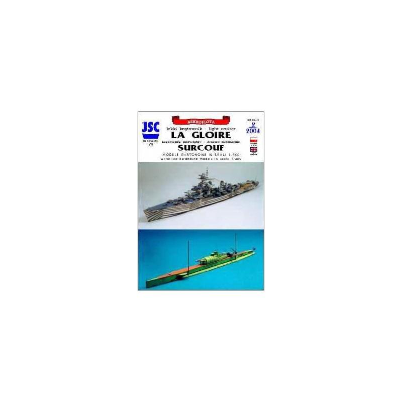 La Gloire and Surcouf - JSC 074