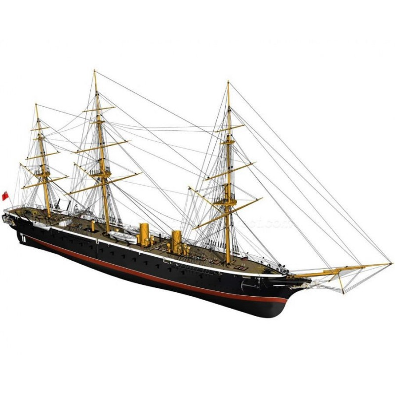 HMS Warrior - Billing Boats BB512