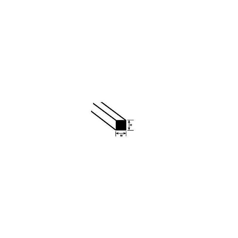 Pręt prostokąt 0,5mm x 1mm x 250mm - Plastruct 90722