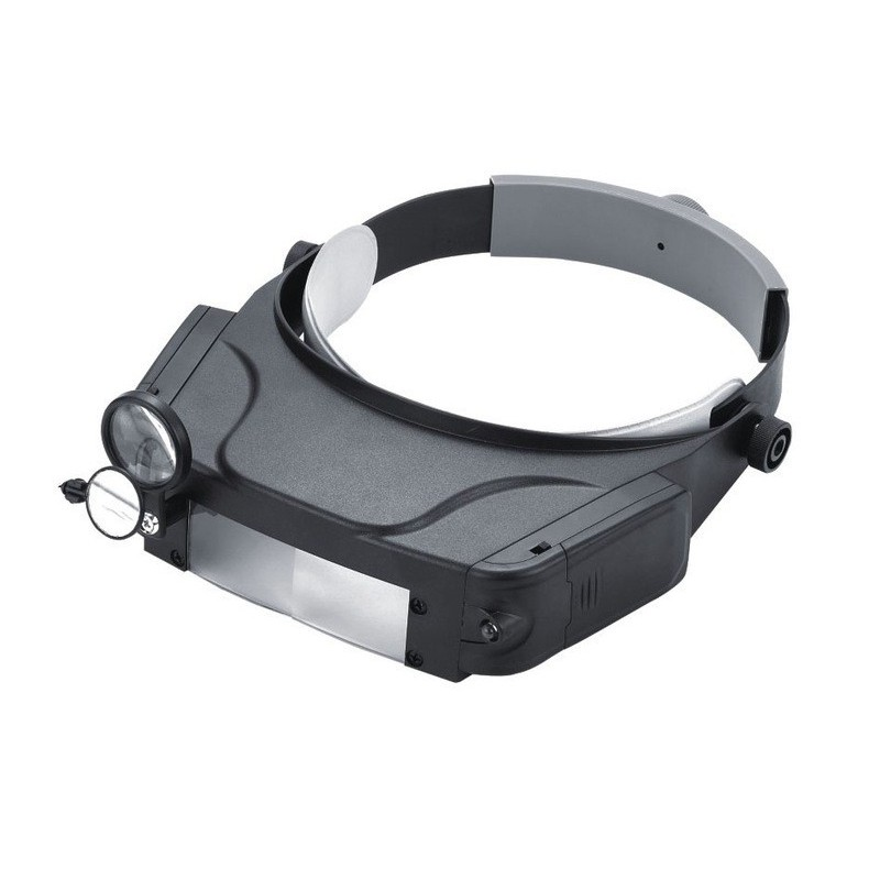 Magnifying Glass Headset with LED