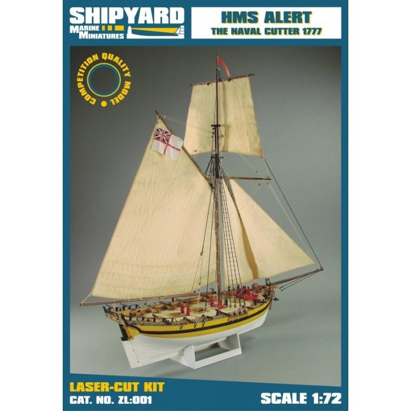 HMS Alert 1777 - Shipyard ZL001
