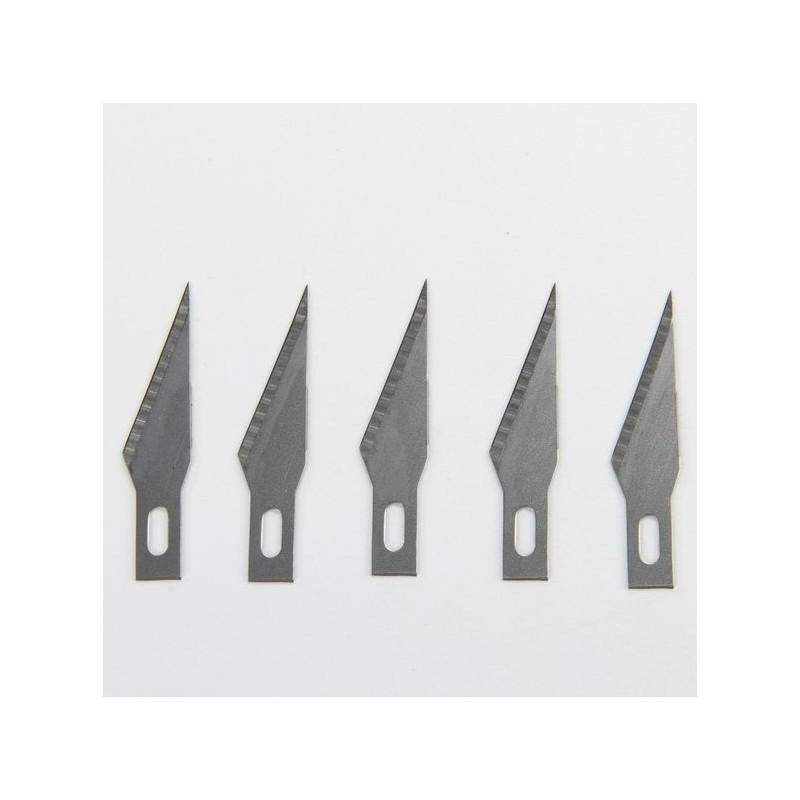 Precision knife blades 5pcs - Amati 7411