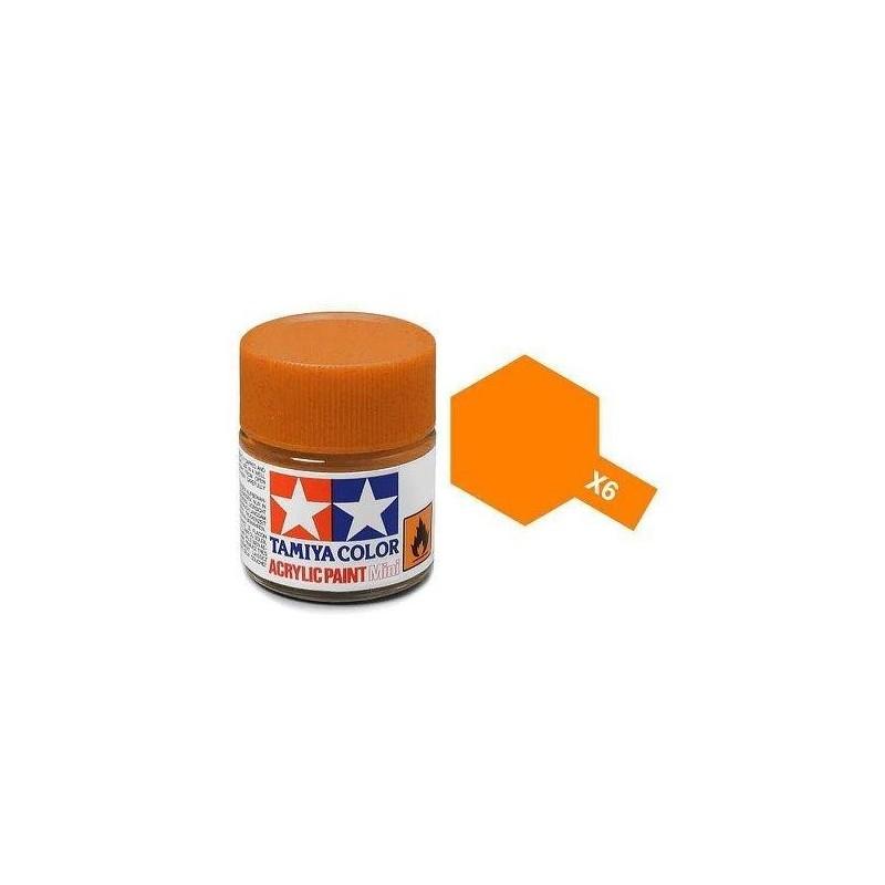 Tamiya X-6 Orange 10ml - 81506