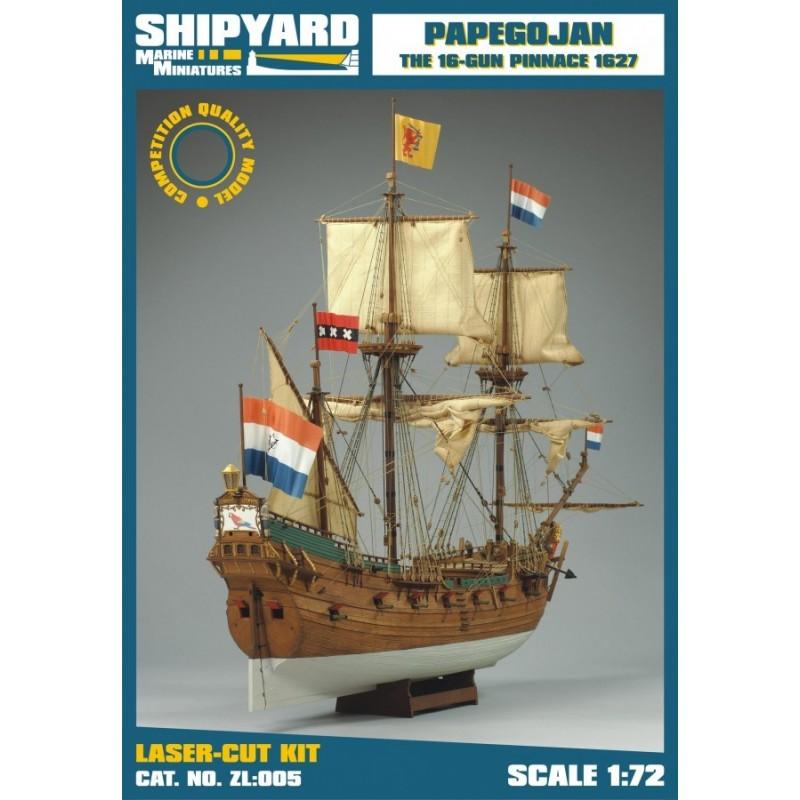 Papegojan 1627 - Shipyard ZL005