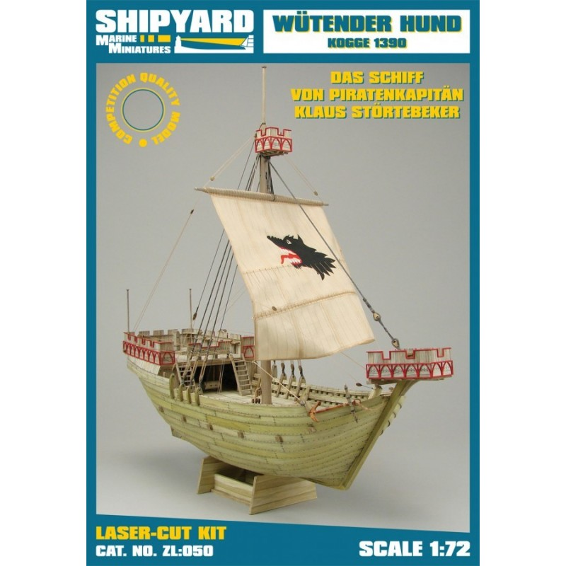 Wutender Hund - Kogge 1390 - Shipyard ZL050