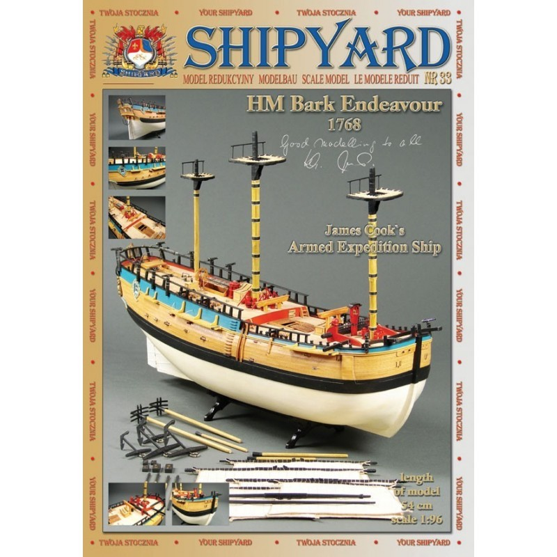 HM Bark Endeavour 1768 - Shipyard MK004