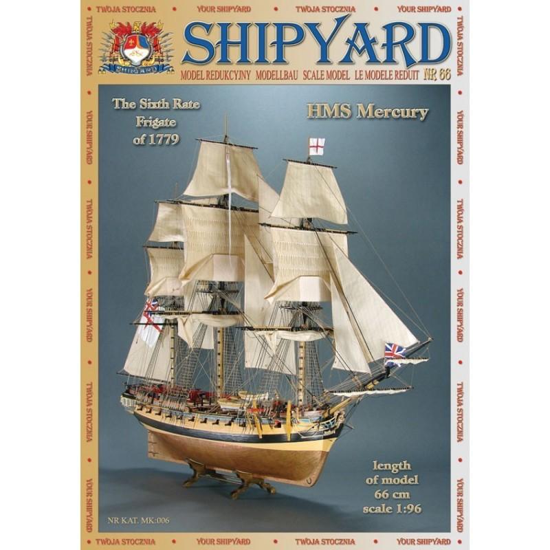 HMS Mercury 1779 - Shipyard MK006