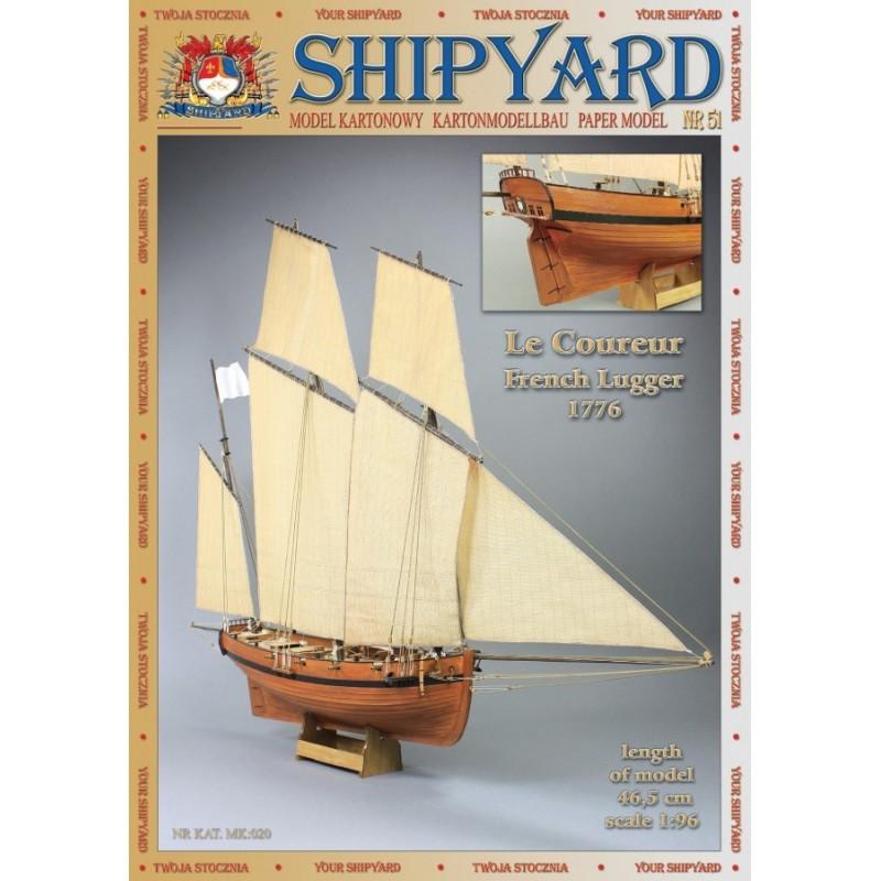 Le Coureur 1776 - Shipyard MK020