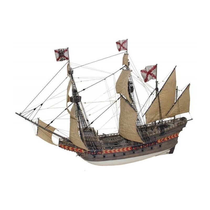 Santiago de Compostela galleon - Disarmodel 20170