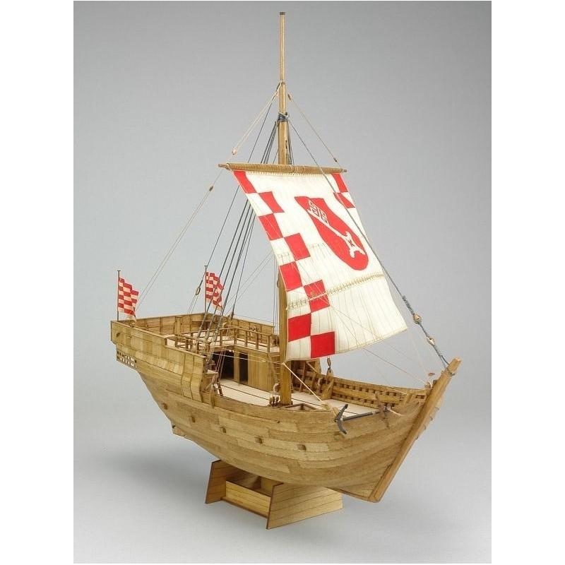 Hanse Kogge von Bremen 1380 - Shipyard WM005