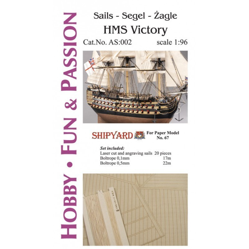 Sails HMS Victory - Shipyard AS002