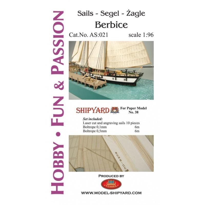 Sails Berbice - Shipyard AS021