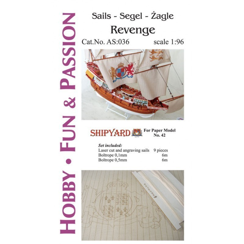Sails Revenge - Shipyard AS036