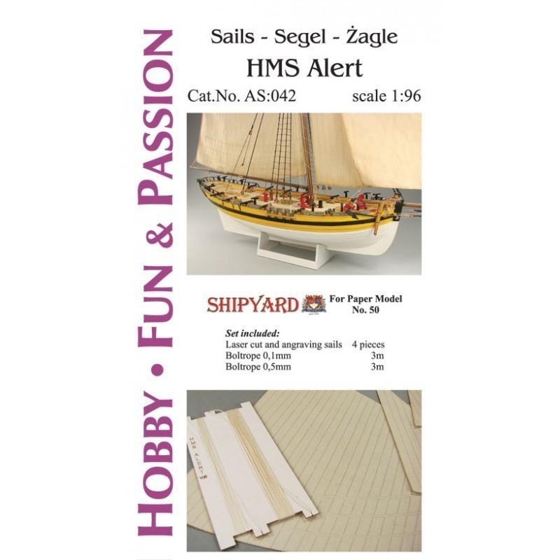 Sails HMS Alert - Shipyard AS042