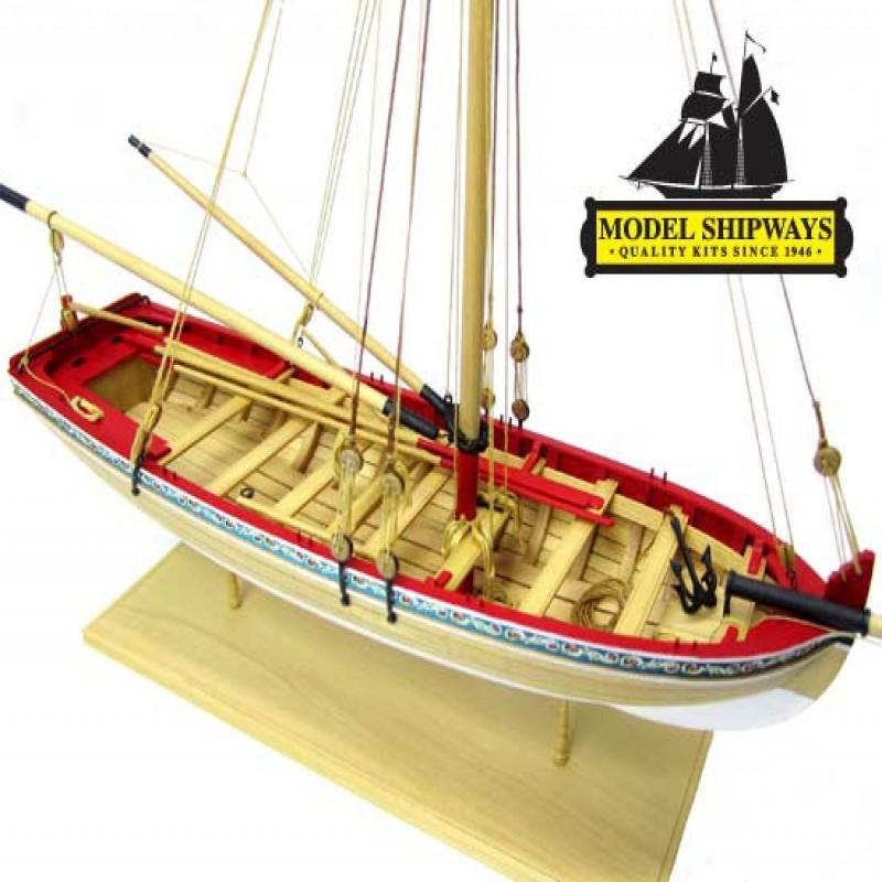 Longboat 18 century - Model Shipways MS1457