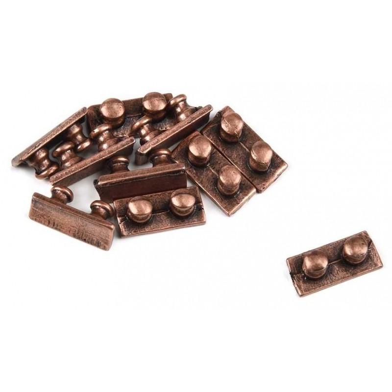 Bollards 5x10mm 10pcs - Amati 4909/07