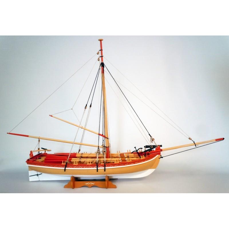 18th Century Armed Longboat - Model Shipways MS1460