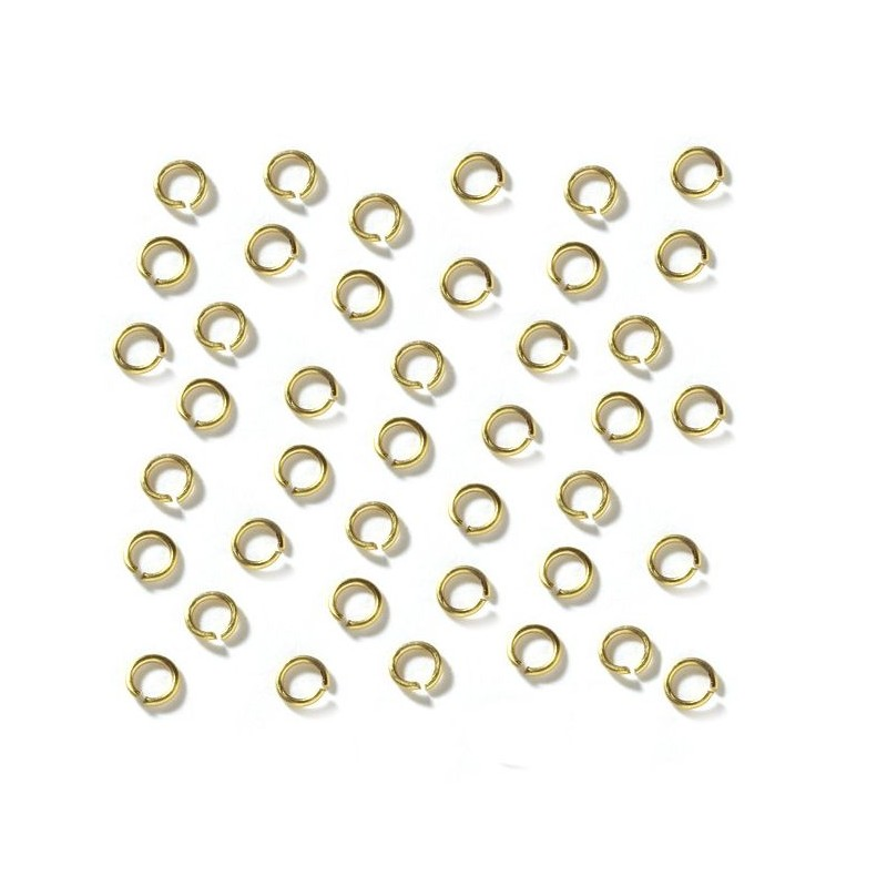 Brass rings 3mm 200pcs - OcCre 17005