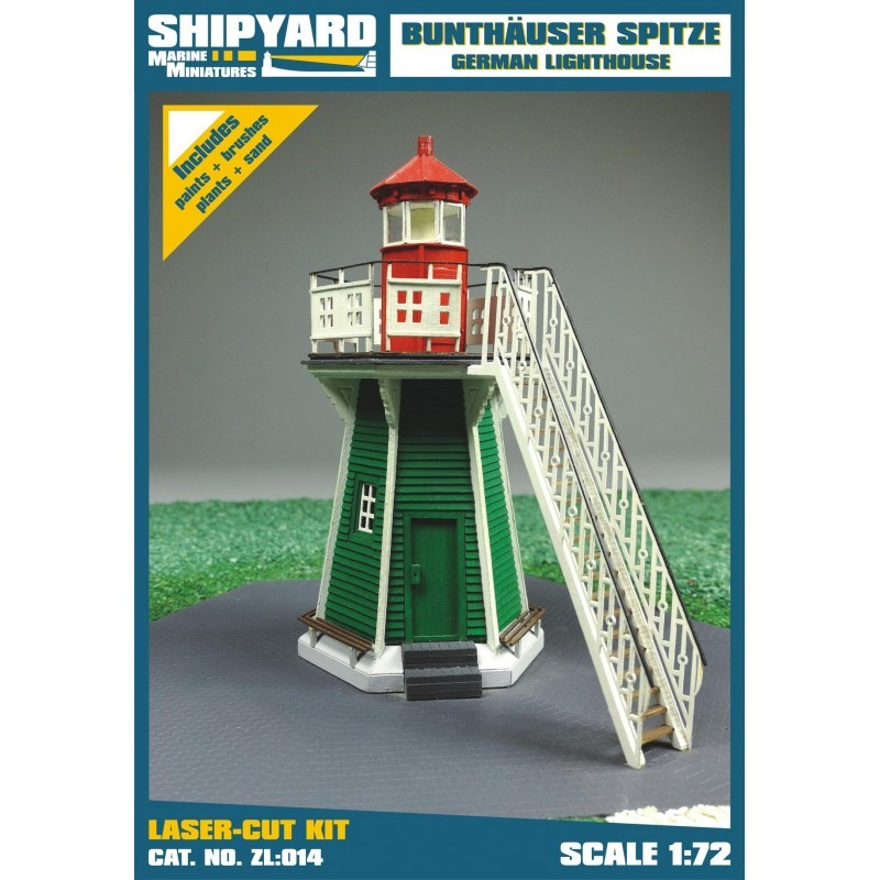 Bunthäuser Spitze Lighthouse - Shipyard ZL014