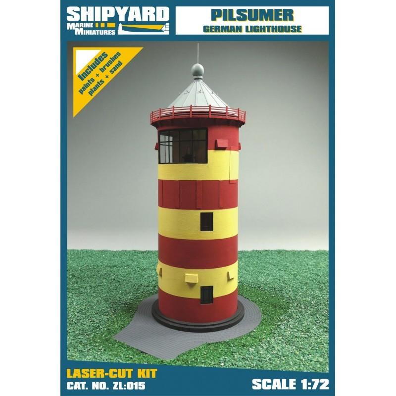 Pilsumer Lighthouse - Shipyard ZL015