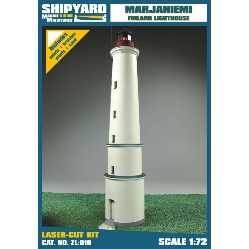 Marjaniemi Lighthouse - Shipyard ZL010