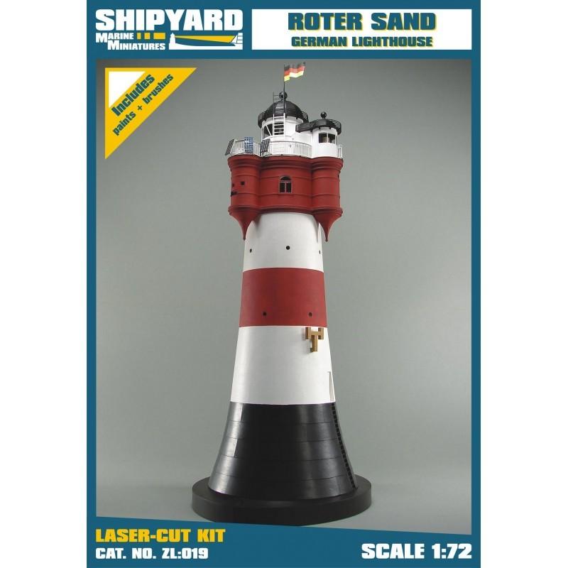 Roter Sand Lighthouse - Shipyard ZL019