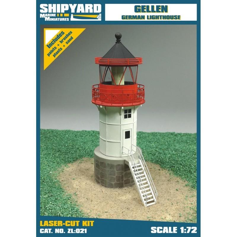 Gellen Lighthouse - Shipyard ZL021