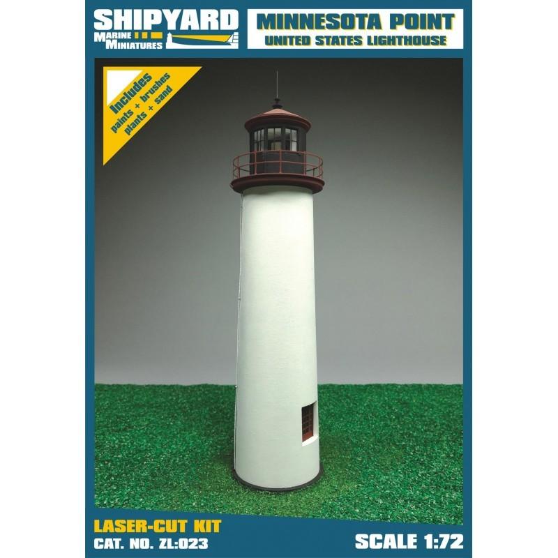 Minnesota Point Lighthouse - Shipyard ZL023