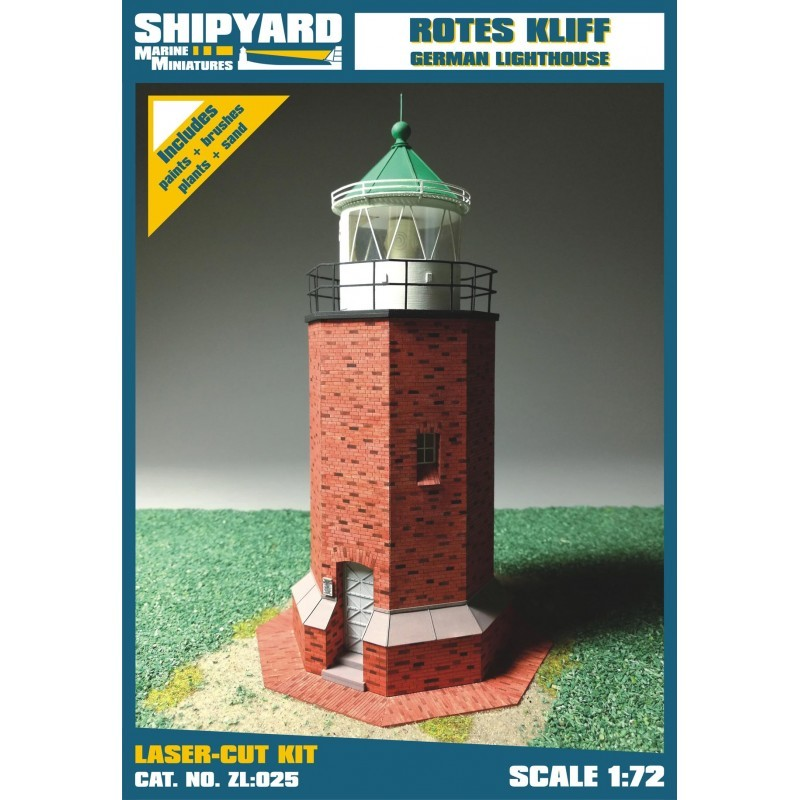 Rotes Kliff Lighthouse - Shipyard ZL025