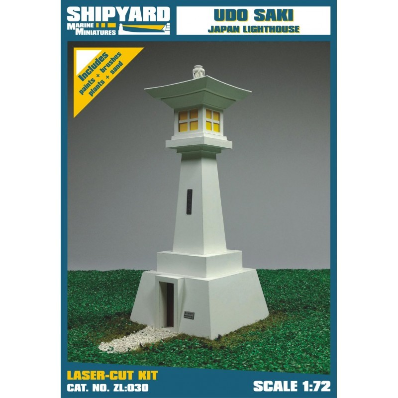 Udo Saki Lighthouse - Shipyard ZL030