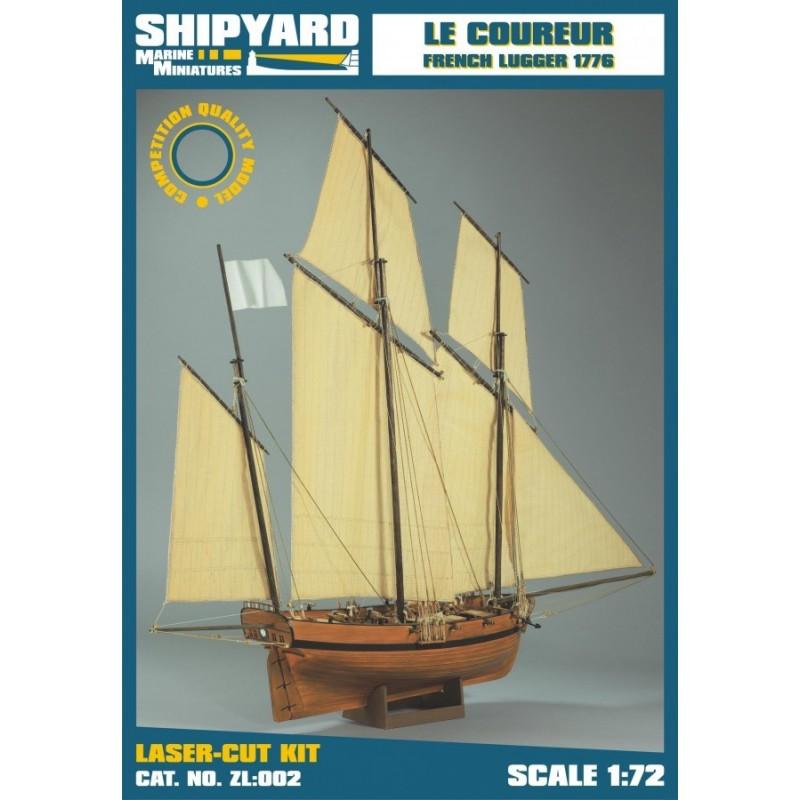 Le Coureur 1776 - Shipyard ZL002